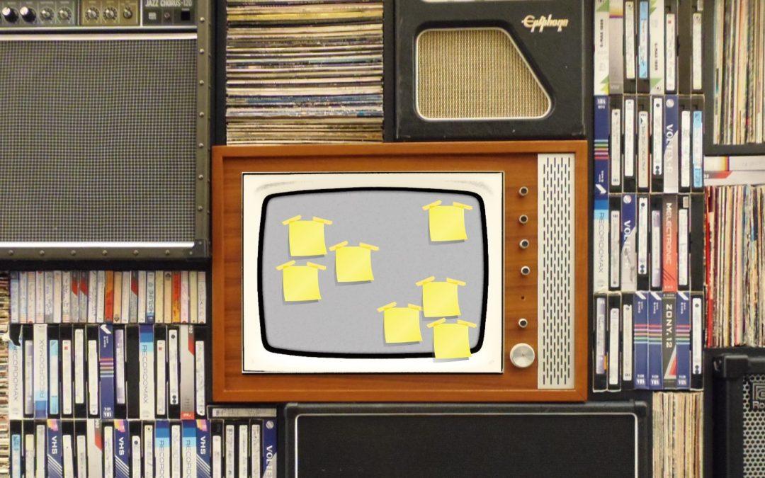 Warum tapezieren wir nicht Plakate auf TVs?